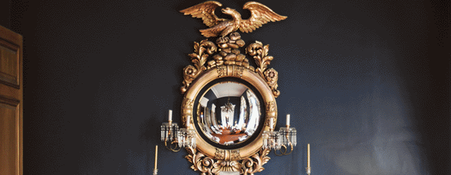 baroque style building interior - what is a baroque style mirror