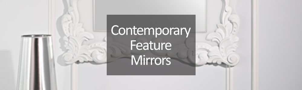 Contemporary Feature Mirrors