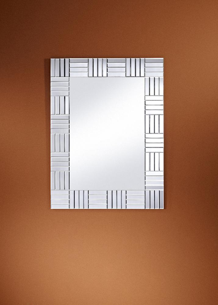 Lucida Frameless Bevelled Wall Mirror By Deknudt Mirrors