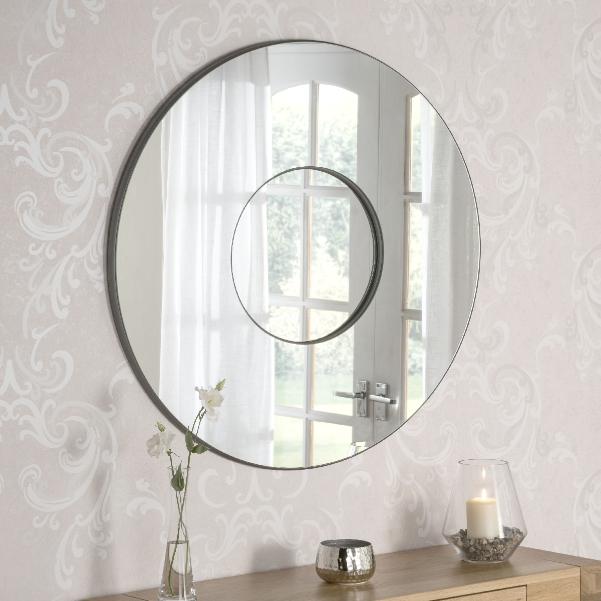 Round Plain Frameless Wall Mirror 315 00 Mirror Shop Uk