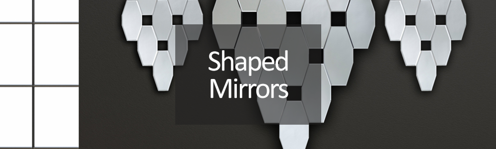 Shaped Wall Mirrors