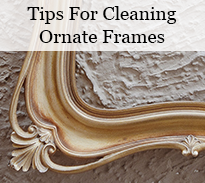 orante frame cleaning tips
